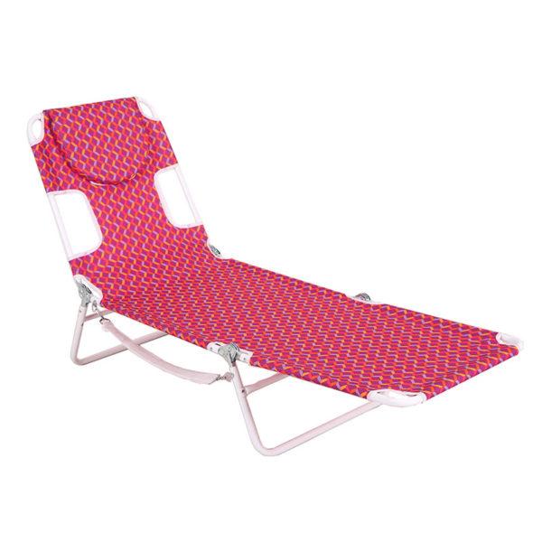 Chaise Lounge Folding Portable Sunbathing Beach Chair