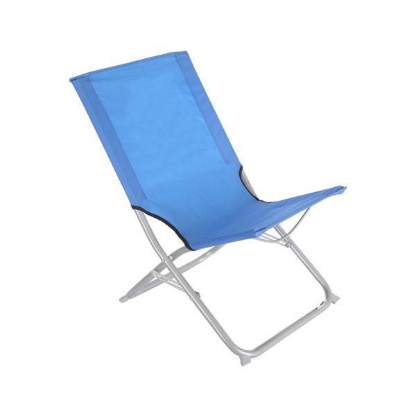 Folding Beach Chair-Blue