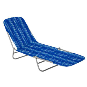 Outdoor Swimming Pool Chaise Lougue Metal Folding Beach Sun Lounger