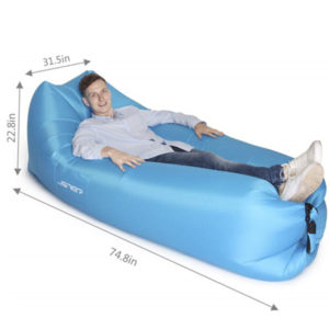 Square Head Air Lounger-Blue Color