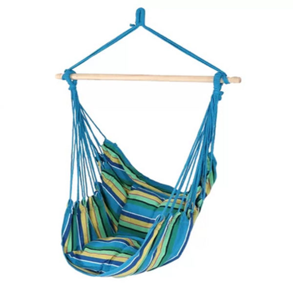 Cotton and Polyester Hammock Chair