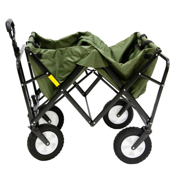Sports Folding Wagon - Green